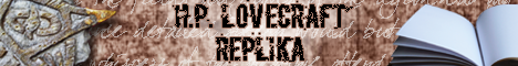 H.P. Lovecraft Replika
